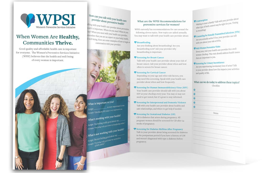 picture about Printable Patient Education Handouts identify WPSI Individual Schooling Pamplets Womens Preventive